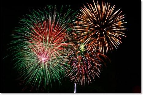 Fireworks Over The Hudson