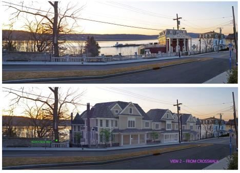 Before vs. (Proposed) After, at 19 Livingston Avenue, Dobbs Ferry NY