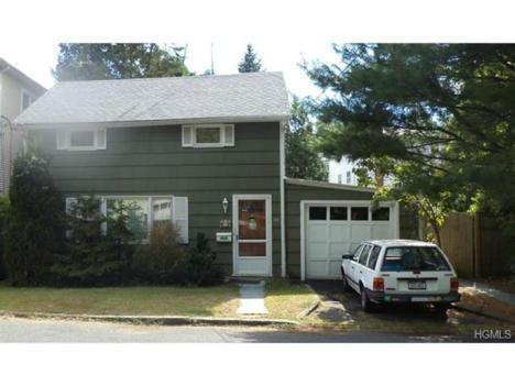 Classic Eyebrow Colonial Cottage in Dobbs Ferry $329,000. Price Reduced to $309,000